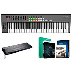 Novation Launchkey 61 Keyboard Controller Package 1 (NOVLK61CP1)