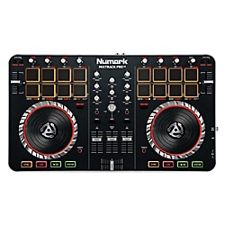 Numark MixTrack Pro II DJ Controller with Audio I/O (MIXTRACKPRO II)