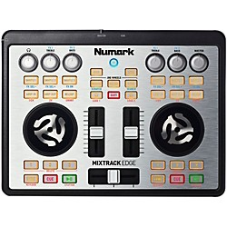 Numark Mixtrack Edge Slimline USB-powered DJ Controller (MIXTRACKEDGE)