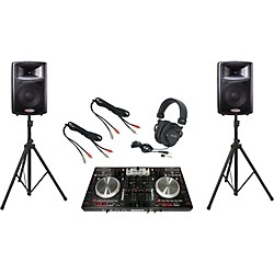 Numark NS6 / Harbinger APS12 DJ Package (NS6APS12)