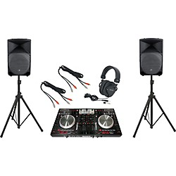 Numark NS6 / Mackie TH-15A DJ Package (DDJS1TH15A)