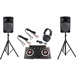 Numark NS7FX / Mackie Thump TH-15A DJ Package (NS7FXTH15A)