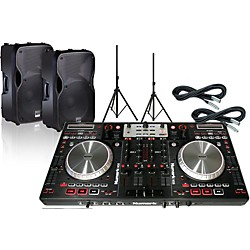 Numark Numark NS6 bundle with Alto TS112A Speakers (NS6+TS112A+XC-20)