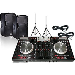 Numark Numark NS6 bundle with Alto TS115A Speakers (NS6+TS115A+XC-20)