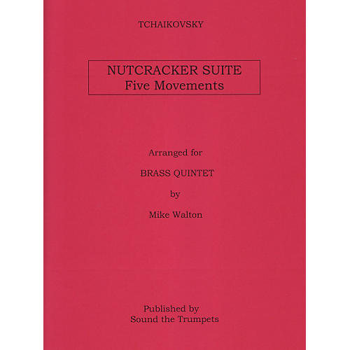 Theodore Presser Nutcracker Suite, Five Movements for Brass Quintet-thumbnail