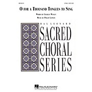 Hal Leonard O for a Thousand Tongues to Sing 2-Part composed by Philip Lawson