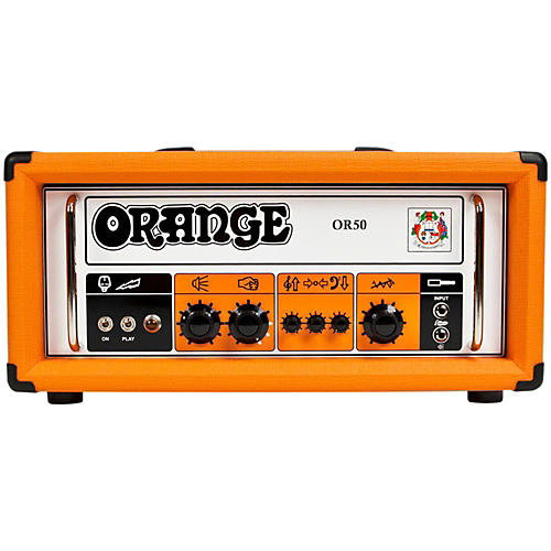 Orange Amplifiers OR50 Tube Guitar Amp Head-thumbnail
