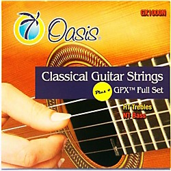 Oasis GPX+ Classical Guitar Strings High Tension GPX Carbon Trebles/Normal Tension Sostenuto Basses (GX-1000N)