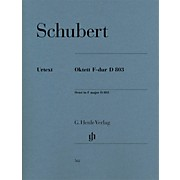 G. Henle Verlag Octet in F Major D 803 Henle Music Folios Series by Franz Schubert
