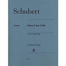 G. Henle Verlag Octet in F Major D 803 Henle Music Folios Series by Franz Schubert