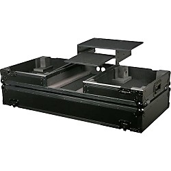 Odyssey ATA Black Label Coffin for Two Turntables and Mixer (FZGSBM12WBL)