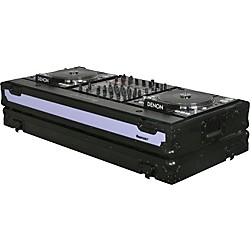 Odyssey FFX12CDJWBL Dual Large Format Tabletop CD/Digital DJ Coffin (FFX12CDJWBL)