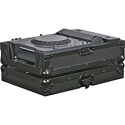 Odyssey FFXCDJBL Large Format Tabletop CD/Digital Media Player Case (FFXCDJBL)