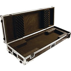 Odyssey Flight Zone: Keyboard case for 76 note keyboards with wheels (FZKB76W)