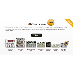 Ohm Force All Effects Bundle Software Download (1035-184)