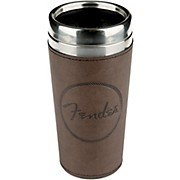 Fender Old West Travel Mug - Brown Leather