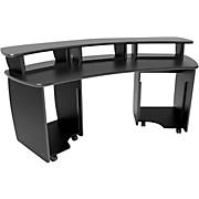 Omnirax OmniDesk Audio/Video Editing Workstation - Black