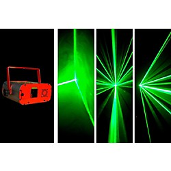 OmniSistem MAGIC BOX WIDE BEAM Laser Effect - Green (AL-10 10G)