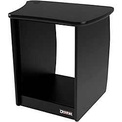 Omnirax OM13R 13-Rackspace Cabinet for the Right Side of the OmniDesk - Black (OM13R-B)