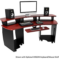 Omnirax OMNIDesk Audio/Video Editing Workstation - Mahogany (OMNI-MF)