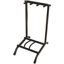 On-Stage Stands 3-Space Foldable Multi Guitar Rack (GS7361)