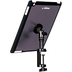 On-Stage Stands TCM9163 Quick Disconnect Table Edge Tablet Mounting System with Snap-On Cover (TCM9163GM)