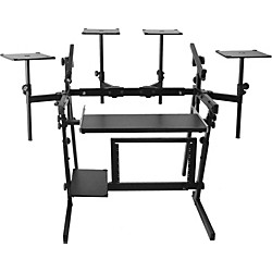On-Stage Stands WS8700 Professional 2-Tier Metal Workstation (KIT-451078)