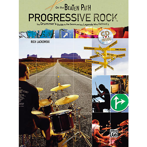 Alfred On the Beaten Path - Progressive Rock: The Drummer's Guide to the Genre and the Legends Who Defined Them - Book and CD-thumbnail