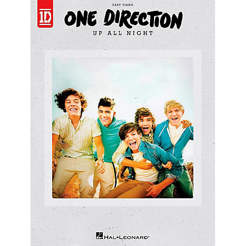 Hal Leonard One Direction - Up All Night for Easy Piano-thumbnail
