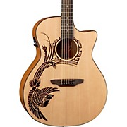 Luna Guitars Oracle Phoenix 2 Acoustic-Electric Guitar