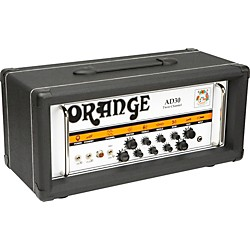 Orange Amplifiers AD Series AD30HTC 30W Tube Guitar Amp Head (AD30HTC Black)