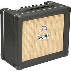Orange Amplifiers Crush PiX Series CR20LDX 20W 1x8 Guitar Combo Amp (CR20LDX Black)