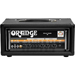 Orange Amplifiers Dual Dark 50W High-Gain Guitar Head (DD50 Black)