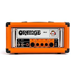 Orange Amplifiers OR Series OR15H 15W Compact Tube Guitar Amp Head (OR15H)