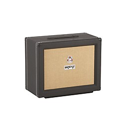 Orange Amplifiers PPC Series PPC112C 1x12 60W Closed-Back Guitar Speaker Cabinet (PPC112C Black)