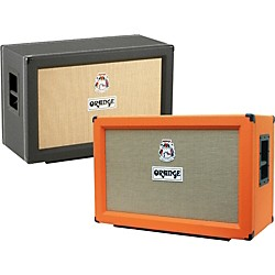 Orange Amplifiers PPC Series PPC212-C 120W 2x12 Closed Back Guitar Speaker Cabinet (PPC212-C Black)