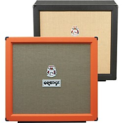 Orange Amplifiers PPC Series PPC412-HP 400W 4x12 Guitar Speaker Cabinet (PPC412-HP Black)