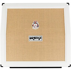 Orange Amplifiers PPC Series PPC412AD 240W 4x12 Angled Front Compact Closed-Back Guitar Speaker Cabinet in Limited Edi (PPC412AD White)