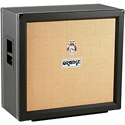 Orange Amplifiers PPC Series PPC412COM 4x12 240W Compact Closed-Back Guitar Speaker Cabinet (PPC412COM Black)