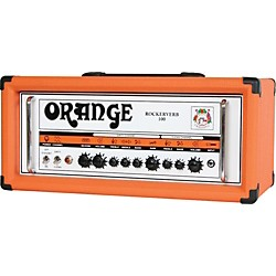 Orange Amplifiers Rockerverb 100 RK100HTC 100W Tube Guitar Amp Head (RK100HTC RESTOCK)