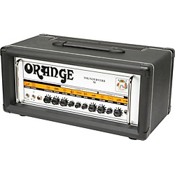 Orange Amplifiers Thunderverb 50 Series TH50HTC 50W Tube Guitar Amp Head (TH50HTC Black)
