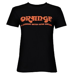 Orange Amplifiers Women's Classic T-Shirt (Womens Shirt Retro Large)