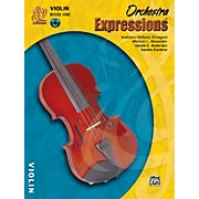 Alfred Orchestra Expressions Book One Student Edition Violin Book & CD 1