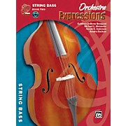 Alfred Orchestra Expressions Book Two Student Edition String Bass Book & CD 1