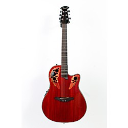 Ovation Celebrity Deluxe Super Shallow Padauk Acoustic-Electric Guitar (USED006037 CC48-PD)