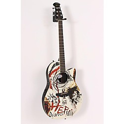 "Ovation Celebrity NS28 Nikki Sixx""Heroin Diaries"" Acoustic-Electric Guitar (USED005001 NS28-HD)"