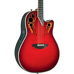 Ovation Custom Elite C2078 AX Deep Contour Acoustic-Electric Guitar (C2078AX-RTD)