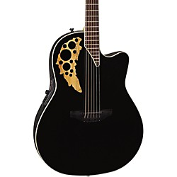 Ovation Elite TX Mid Depth Cutaway Acoustic-Electric Guitar (1778TX-5GSM)
