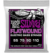 Ernie Ball P02811 Power Slinky Flatwound Bass Strings