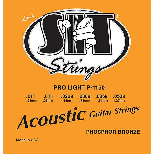 SIT Strings P1150 Pro Light Phosphor Bronze Acoustic Guitar Strings